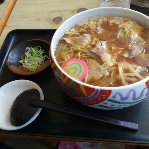 Niku_toji_soba