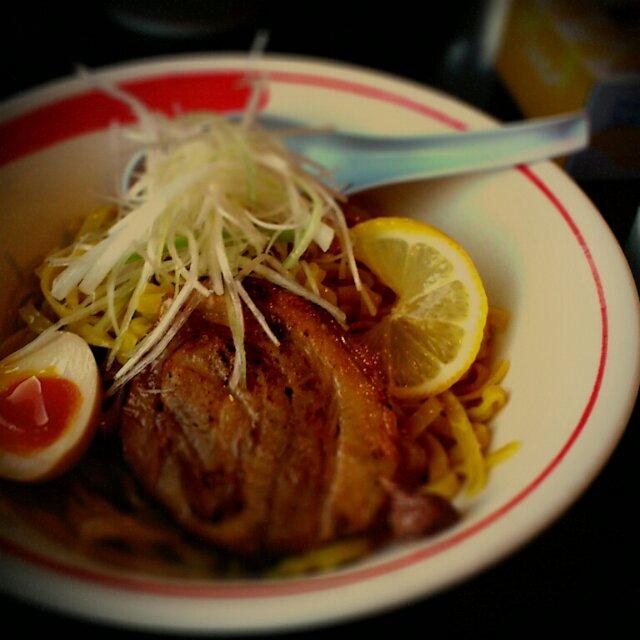 綱取物語 アンチョビつけ麺