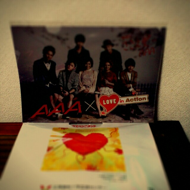 AAA × Love in Action