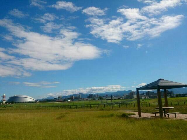 ポタリング丘珠空港緑地