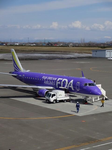 FDA6号機 札幌丘珠空港