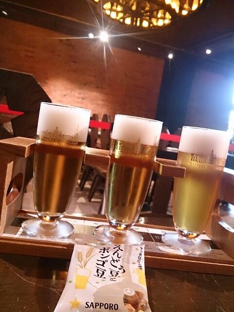 サッポロビール博物館 飲み比べセット