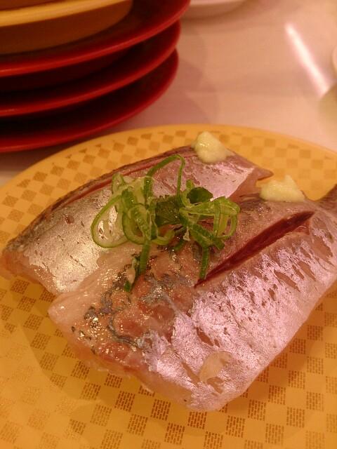 魚べい こだわりバジル味噌ラーメン