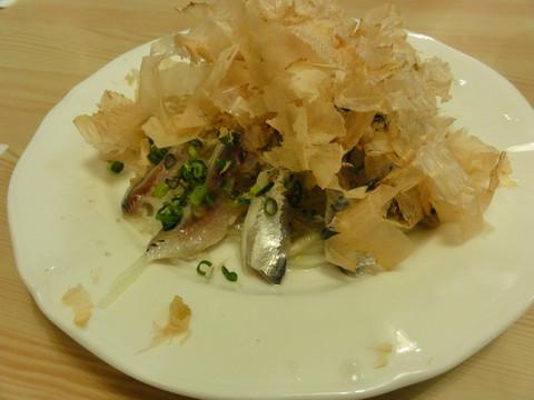 Iwashi_salad