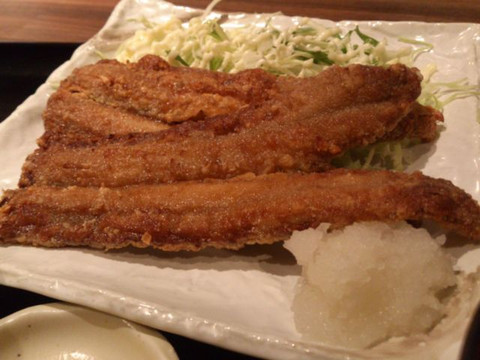 Saury_fried