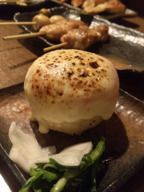 Baked_rice_ball