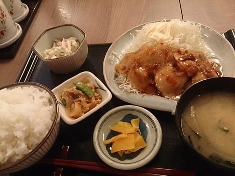 Pork_ginger_grilled_meal