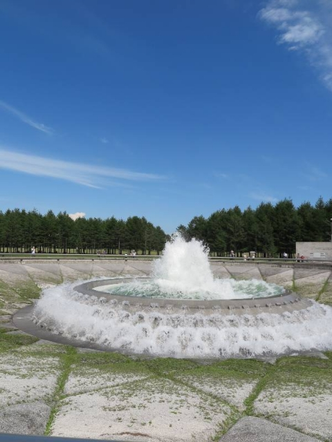Sea-fountain