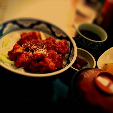 レストランひまわり清水店 チキントマト定食