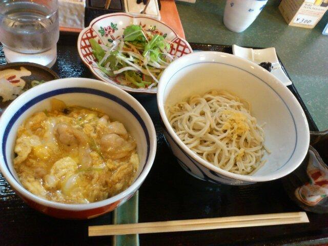 蕎麦花 親子丼セット