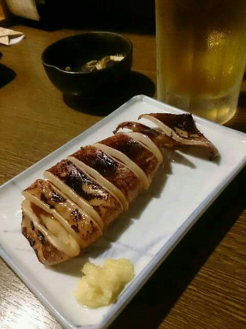 覇王樹 つぶ煮・イカ焼